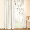 Ivory Silk Curtain