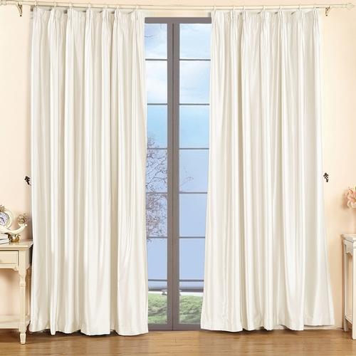 19Momme Silk Curtain Pinch Pleat Header