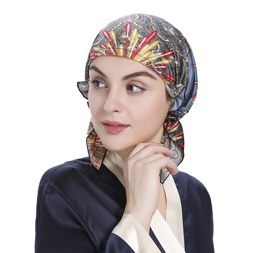 Silk Night Sleeping Cap