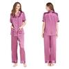 Violet Women Silk Pajama