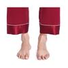 Claret Women Silk Pajamas