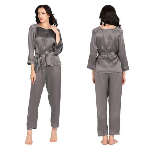 22 Momme Classic Cut Silk Pajamas Set