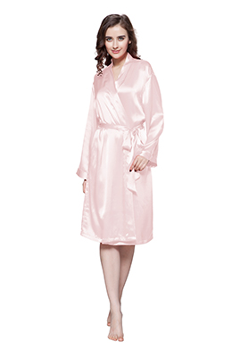 Women Silk Robe