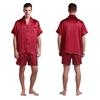 Claret Men Silk Pyjamas