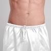 Blanc Pyjashort Homme Soie