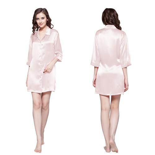 22 Momme Classic Silk Nightshirt