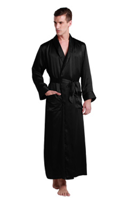Mens Pure Silk Dressing Gowns Sale Lilysilk Australia