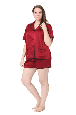 Lilysilk's Plus Size Silk Sleepwear Collections IN SG