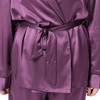 Violet Plus Size Silk Pyjamas
