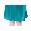 Dark Teal Women Silk Nightgown