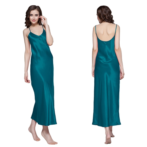 22 Momme Deep Scoop Back Silk Nightgown