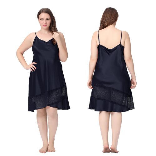 Beige Plus Size Robe