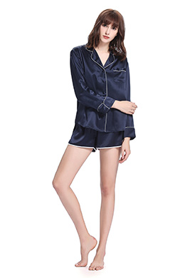 Women Short Silk Pyjamas