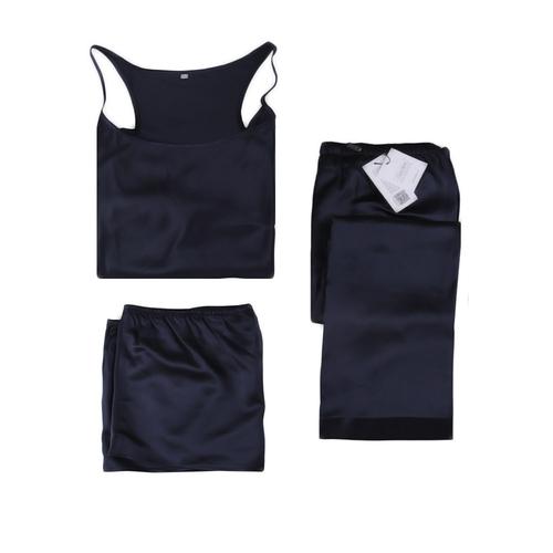 22 Momme Elegant Silk Camisole Set 3pcs