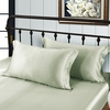 Soft Green Silk Pillowcase