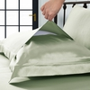 Soft Green Silk Pillowcases