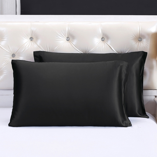 taie d oreiller en soie 22 momme forme sac en portefeuille. Black Bedroom Furniture Sets. Home Design Ideas