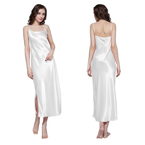 22 Momme Full Length Silk Nightgown