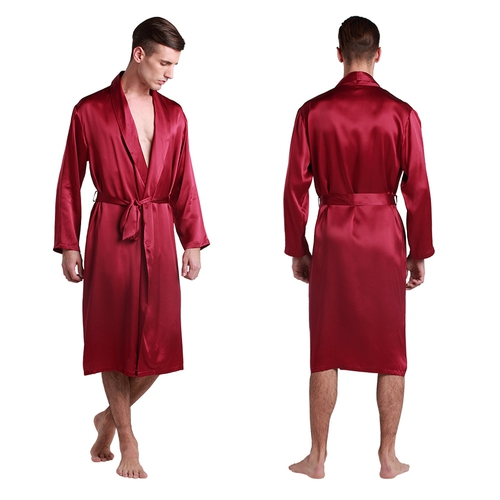Mens Silk Pajamas