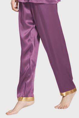 zijden broek