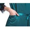 Dark Teal Women Silk Pajama