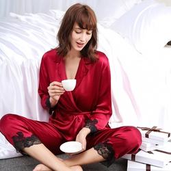 Silk Pyjamas Set