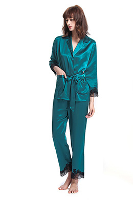 Silk Pajamas Set
