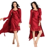 Claret Women Silk Camisole