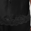 Black women silk camisole