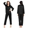 Zwart Zijden Pyjama Dames