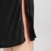 Black Women Silk Nightgown