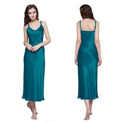 Camicia da notte di seta donna