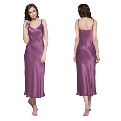 women silk nightdress