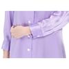 Light Purple Women Silk Nightshirt