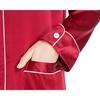 Claret Women Silk Nightshirt