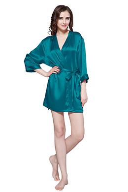 Women Silk Robe