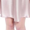 Rosy Pink Women Silk Nightgown
