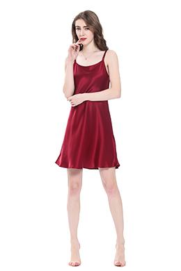 women silk chemise