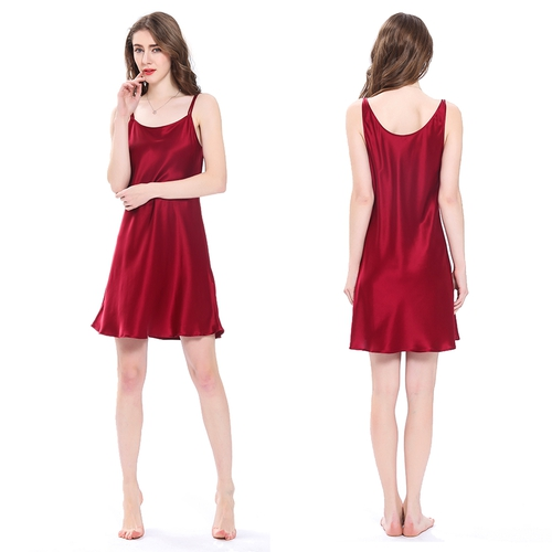 22 Momme Mini Scoop Neck Silk Chemise