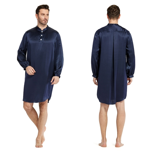22 Momme New Design Silk Robe For Men