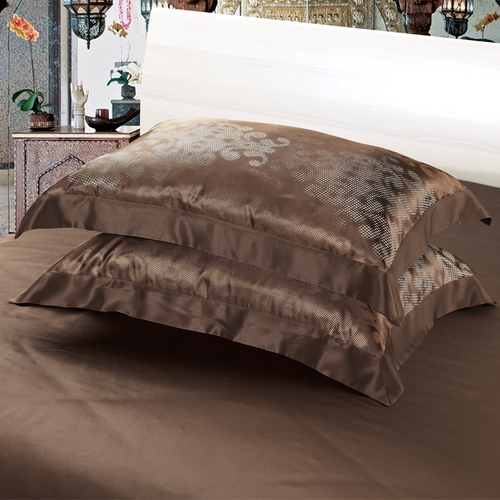 Chocolate Silk Pillowcase