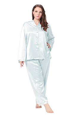 Plus Size Silk Pyjamas