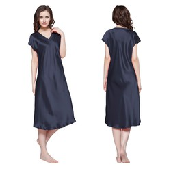 Women Silk Nightgown