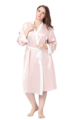 Plus Size Dressing Gown