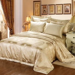 Yellow Silk Bedding Sets
