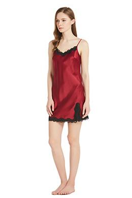 Women Silk Nightgown