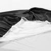 Black Silk Bed Skirt