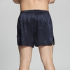 Navy Blue Men Silk Boxers