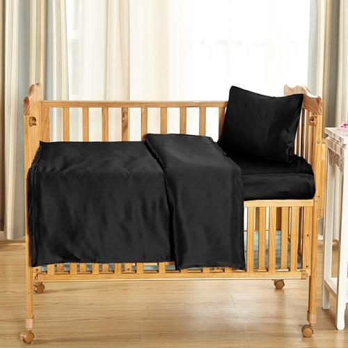 22 Momme juego de sábanas de cuna