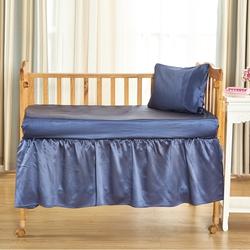 Silk Crib Bedskirt